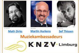 45pct Muziekambassadeurs KNZV Limburg en LINKS