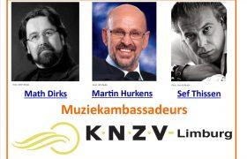 Muziekambassadeurs KNZV Limburg en LINKS